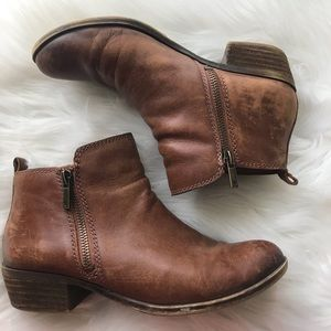 Lucky Brand Basil Leather Booties
